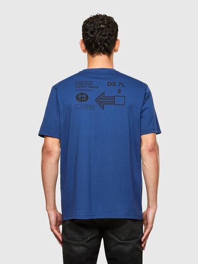 Diesel - T-JUST-A39, Blau - T-Shirts - Image 2