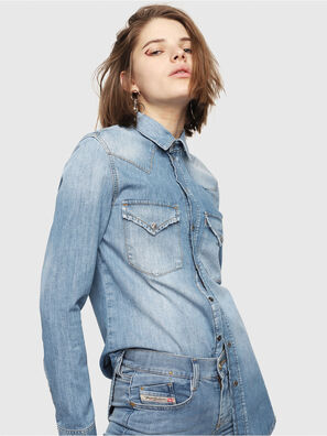 DE-RINGY, Jeansblau - Denimhemden