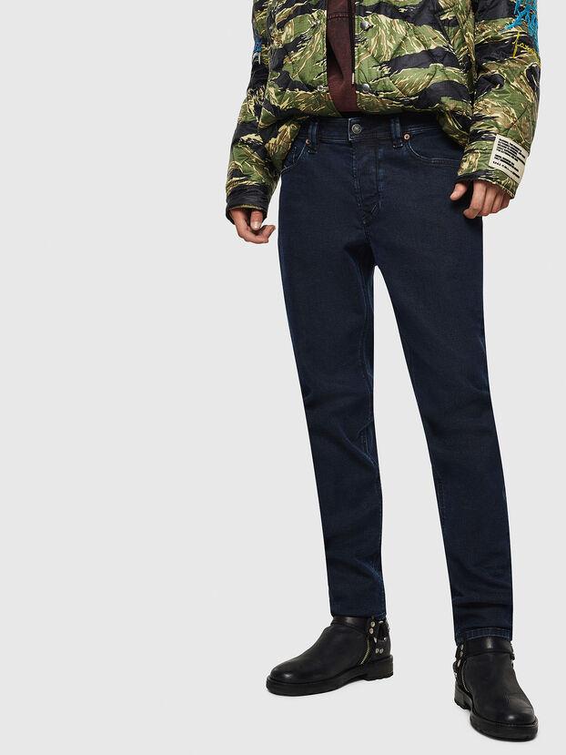 Larkee-Beex 084LC, Dunkelblau - Jeans