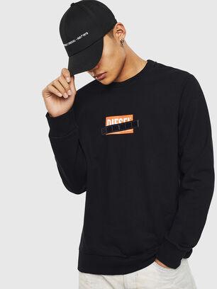 S-GIRK-S4, Schwarz - Sweatshirts
