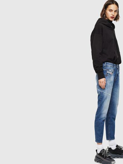 Diesel - Fayza 0097B, Mittelblau - Jeans - Image 5