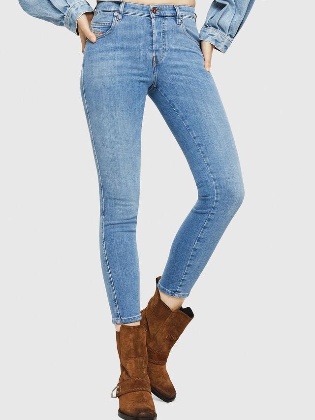 Diesel - Babhila 086AK, Hellblau - Jeans - Image 1