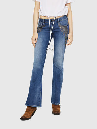 D-Clayre 082AD, Mittelblau - Jeans
