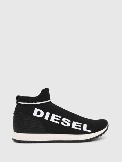 Diesel - SLIP ON 03 LOW SOCK, Schwarz - Schuhe - Image 1