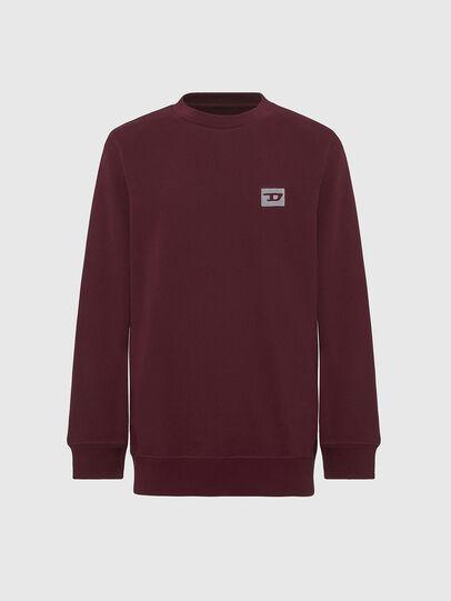 Diesel - UMLT-WILLY, Bordeauxrot - Sweatshirts - Image 1