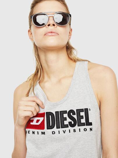 Diesel - T-SILK, Hellgrau - Oberteile - Image 3