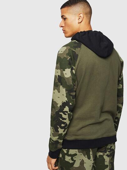 Diesel - UMLT-BRIAN, Camouflagegrün - Sweatshirts - Image 2