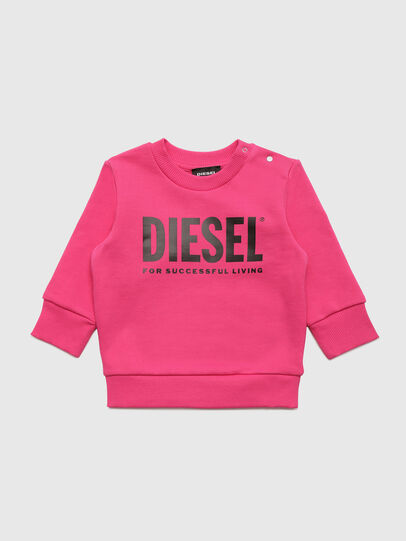 Diesel - SCREWDIVISION-LOGOB, Rosa - Sweatshirts - Image 1