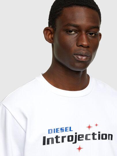 Diesel - S-GIRK-K32, Weiß - Sweatshirts - Image 3