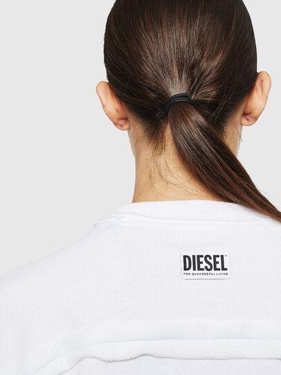 Diesel - F-LYANY-H, Weiß - Sweatshirts - Image 3