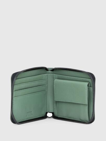 Diesel - HIRESH XS ZIPPI, Armeegrün - Portemonnaies Zip-Around - Image 3