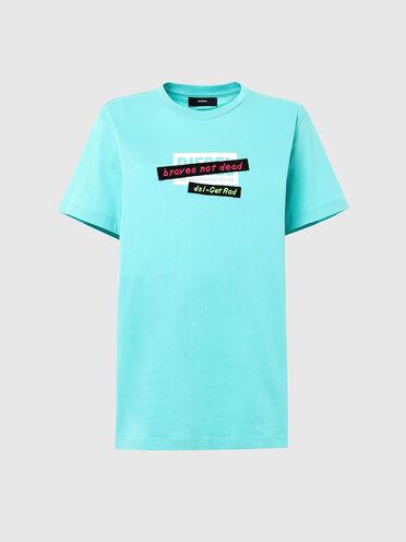 T-Shirt mit bestickten Banddetails