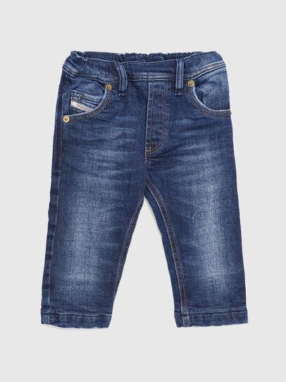 Diesel - KROOLEY-B-N F JOGGJEANS, Mittelblau - Jeans - Image 1
