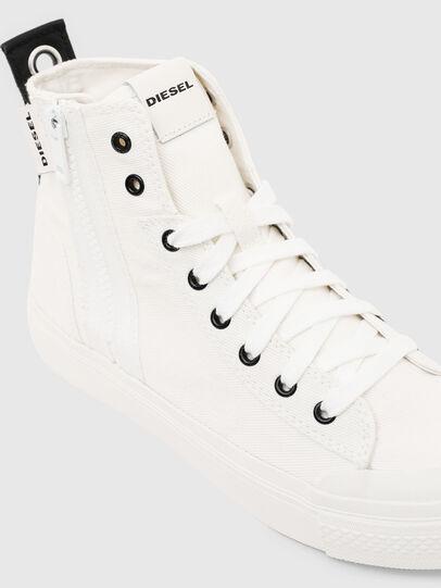 Diesel - S-ASTICO MID ZIP W, Weiß - Sneakers - Image 4