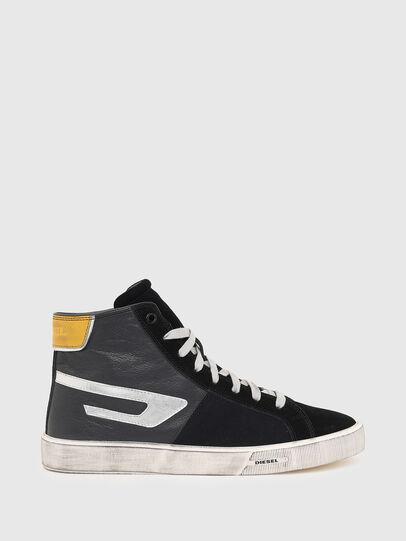 Diesel - S-MYDORI ML, Schwarz/Gelb - Sneakers - Image 1