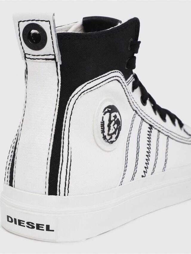 Diesel - S-ASTICO MID LACE, Weiß/Schwarz - Sneakers - Image 4