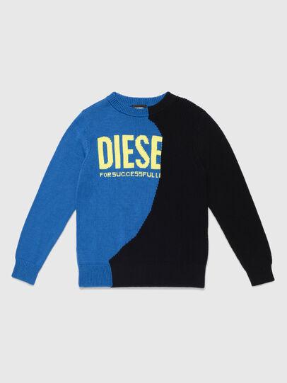 Diesel - KHALF, Blau/Schwarz - Strickwaren - Image 1