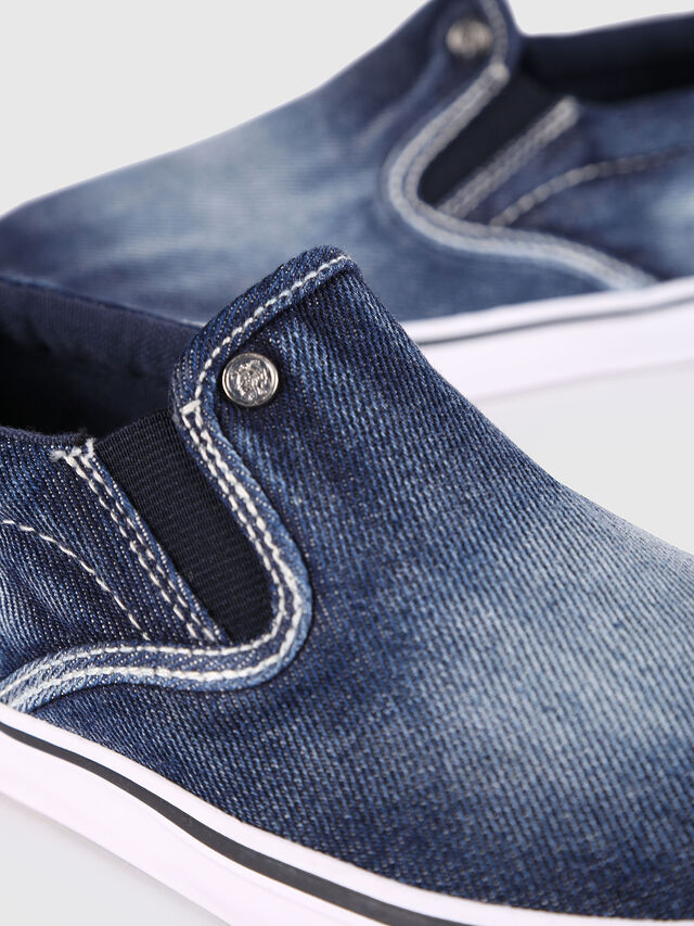 KIDS SLIP ON 21 DENIM YO, Jeansblau - Schuhe - Image 4
