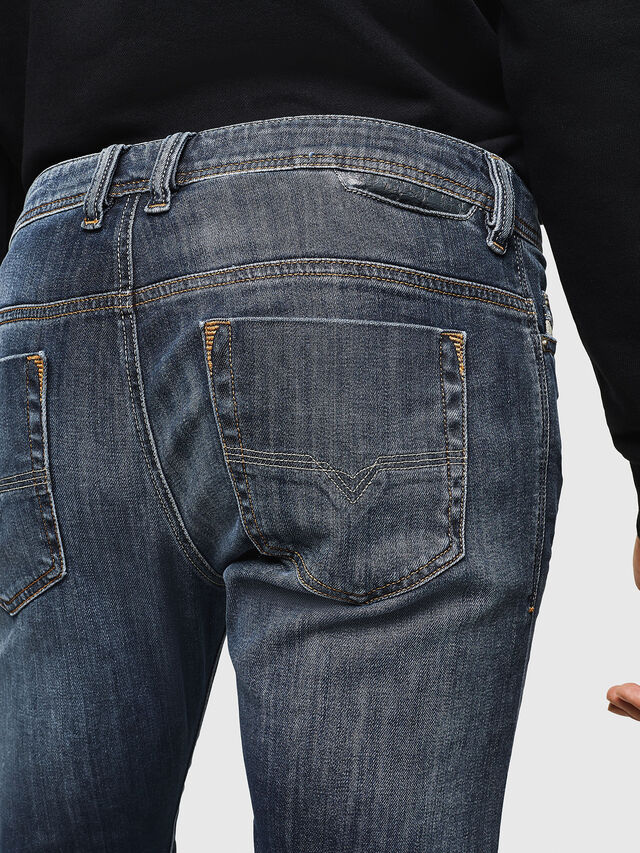 Diesel - Safado 0885K, Dunkelblau - Jeans - Image 4