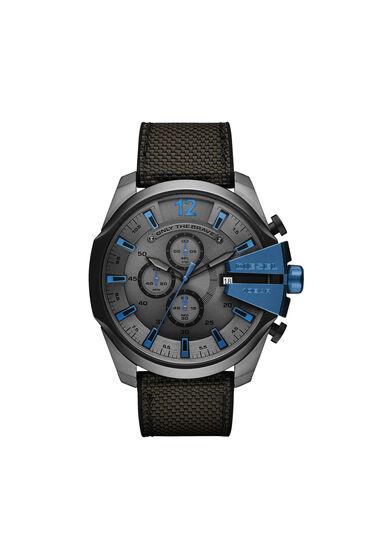 Mega Chief Chronograph-Armbanduhr mit schwarz-grauem Armband