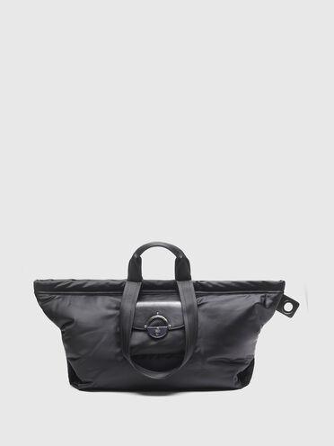 Shopping-Tasche aus Nylon mit Drehschließe