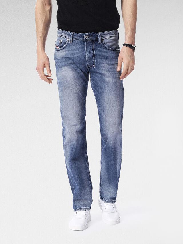 Diesel - Larkee 0853P, Mittelblau - Jeans - Image 1