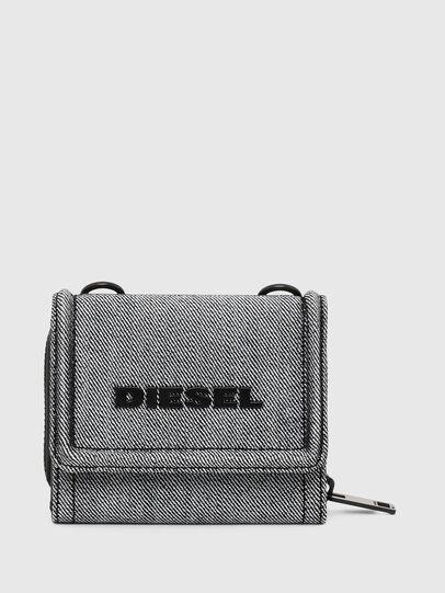 Diesel - LORY, Grau - Kleine Portemonnaies - Image 1