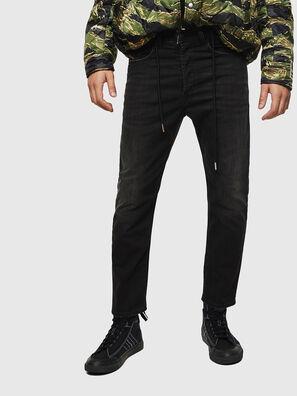 D-Eetar 069BG, Schwarz/Dunkelgrau - Jeans