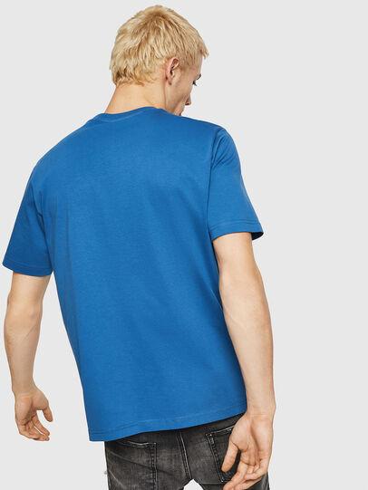 Diesel - T-JUST-DIVISION, Blau - T-Shirts - Image 2
