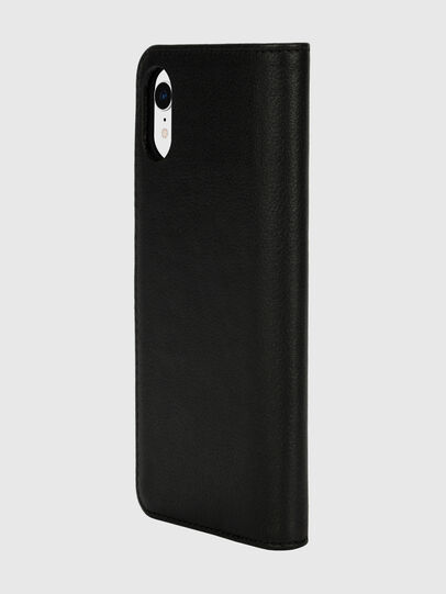 Diesel - DIESEL 2-IN-1 FOLIO CASE FOR IPHONE XR, Schwarz/Weiß - Klappcover - Image 5
