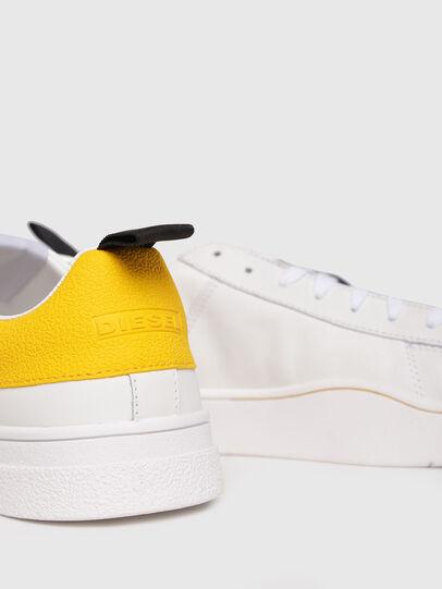 Diesel - S-CLEVER LOW, Weiß/Gelb - Sneakers - Image 4