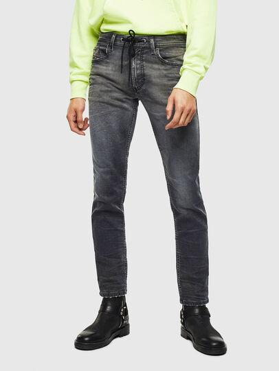 Diesel - Thommer JoggJeans 069KK, Schwarz/Dunkelgrau - Jeans - Image 1