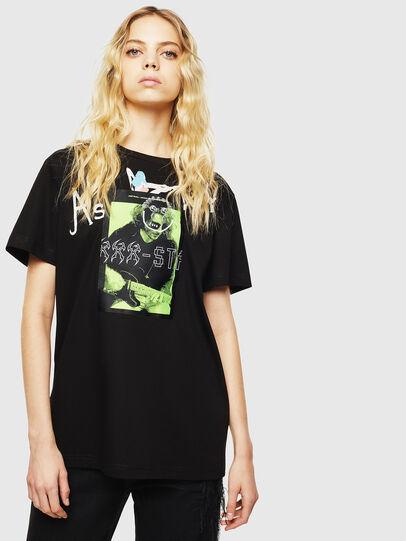Diesel - T-DARIA-Y, Schwarz - T-Shirts - Image 1