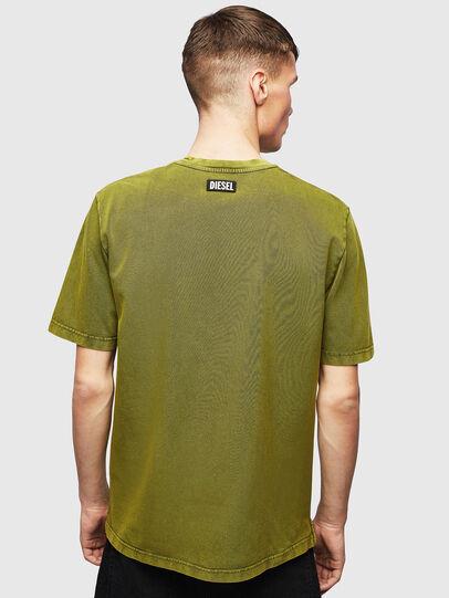 Diesel - T-JUST-SLITS-T15, Gelb - T-Shirts - Image 2