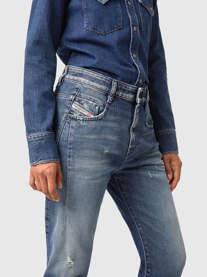 Diesel - Fayza 09A54, Mittelblau - Jeans - Image 3