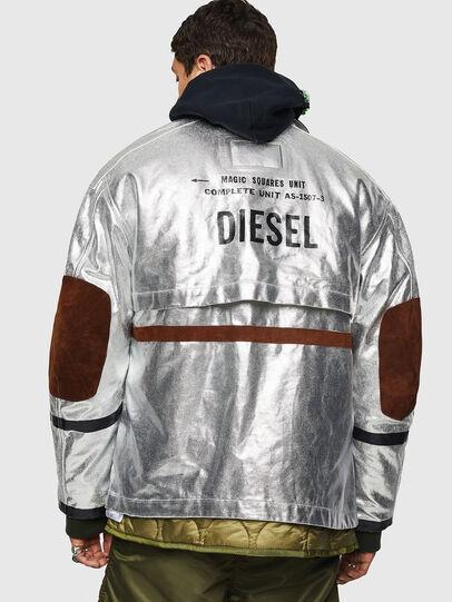 Diesel - J-ZUV, Silber - Jacken - Image 2