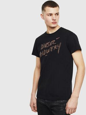 T-DIEGO-S15, Schwarz - T-Shirts