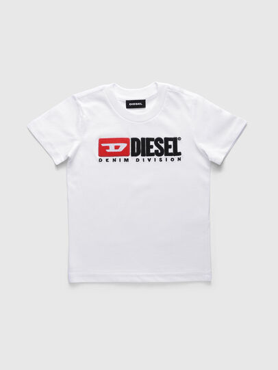 Diesel - TJUSTDIVISIONB-R, Weiß - T-Shirts und Tops - Image 1