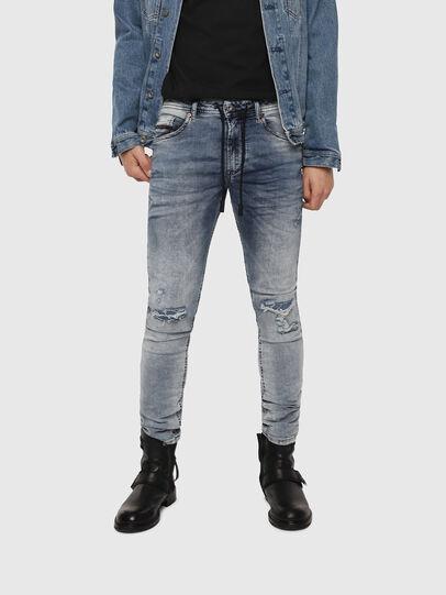 Diesel - Thommer JoggJeans 069FC, Mittelblau - Jeans - Image 1