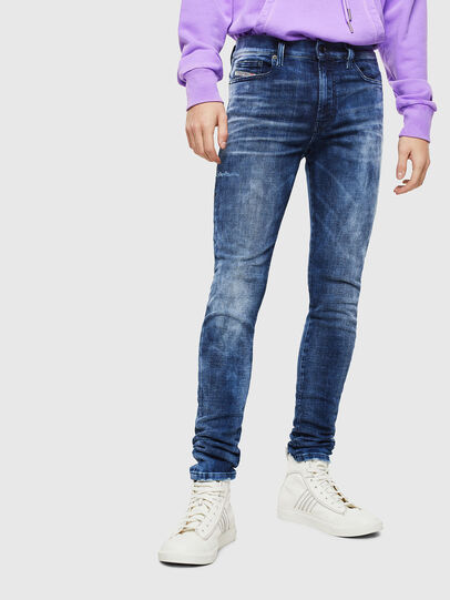 Diesel - D-Amny 0096Q, Mittelblau - Jeans - Image 1