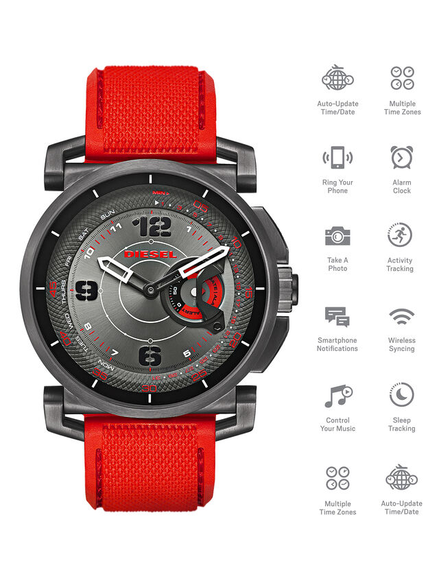 Diesel - DT1005, Rot - Smartwatches - Image 1