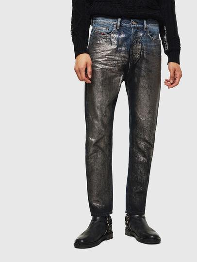 Diesel - D-Vider 0091J, Mittelblau - Jeans - Image 1