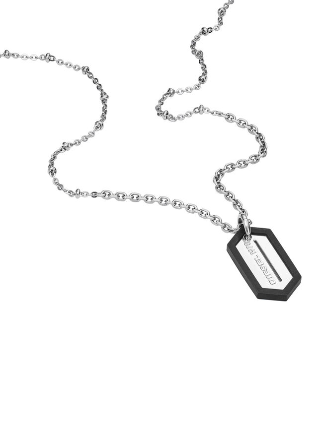 NECKLACE DX0995, Silber
