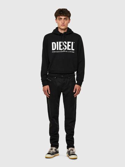 Diesel - D-Strukt JoggJeans® 069NC, Schwarz/Dunkelgrau - Jeans - Image 5