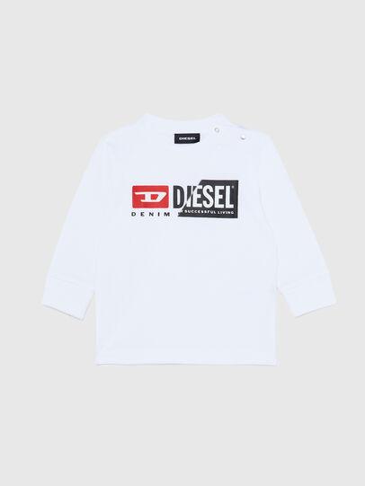 Diesel - TDIEGOCUTYB ML, Weiß - T-Shirts und Tops - Image 1