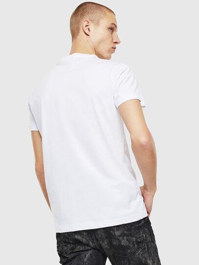 Diesel - T-DIEGO-J12, Weiß/Schwarz - T-Shirts - Image 2