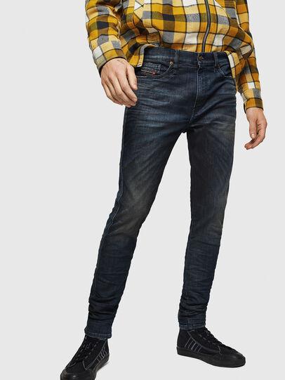 Diesel - D-Reeft JoggJeans 0870Y, Dunkelblau - Jeans - Image 1