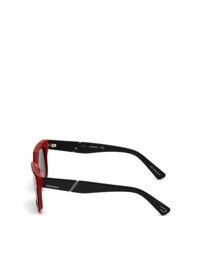 Diesel - DL0253, Schwarz/ Rot - Sonnenbrille - Image 3
