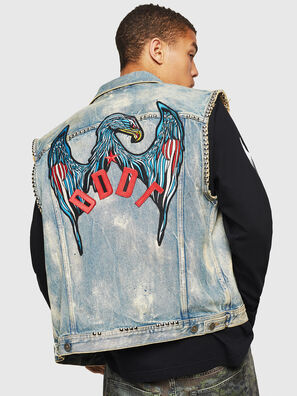 D-SMAK, Hellblau - Denim jacken