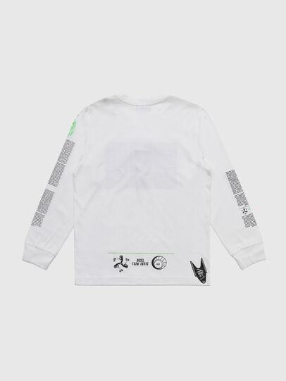 Diesel - TJUSTLS-NEW, Weiß - T-Shirts und Tops - Image 2